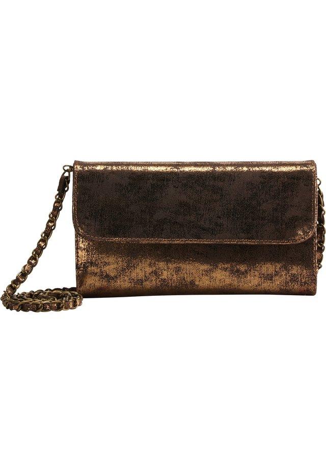 Across body bag - vintage gold