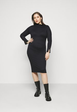 VMVILJA  CURVE - Shift dress - black