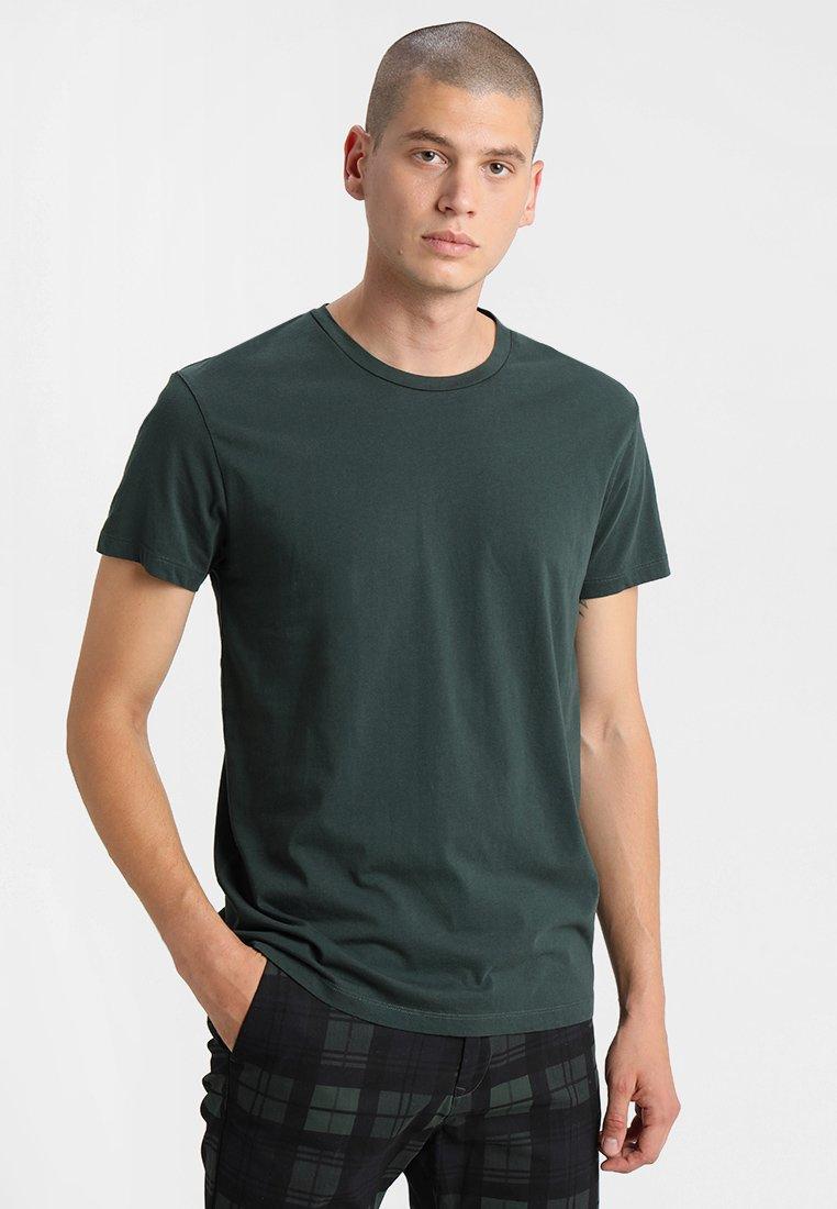 Samsøe Samsøe - KRONOS  - Basic T-shirt - darkest spruce