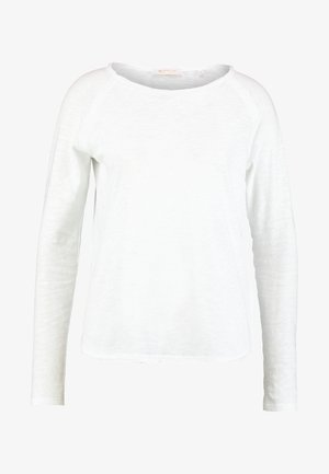 HEAVY LONGSLEEVE - Long sleeved top - white