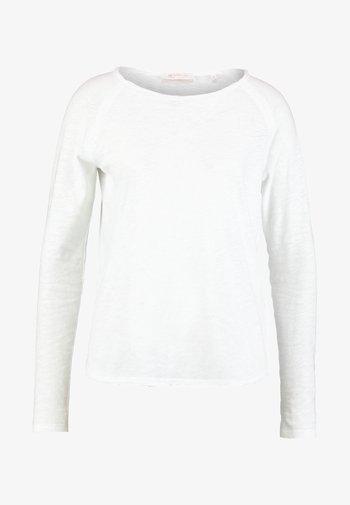 HEAVY LONGSLEEVE - Long sleeved top - white