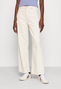 American Vintage - TINEBOROW - Straight leg jeans - ecru - 0