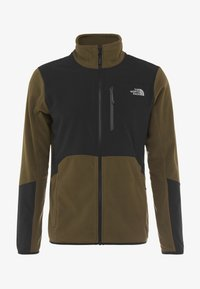 The North Face - GLACIER PRO FULL ZIP - Fleece jacket - new taupe green/black - 4