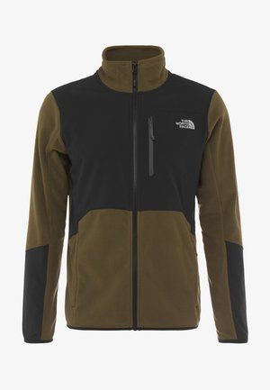 GLACIER PRO FULL ZIP - Fleecová bunda - new taupe green/black