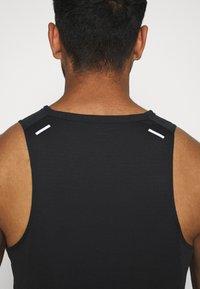 Nike Performance - RISE TANK - Sports shirt - black - 5