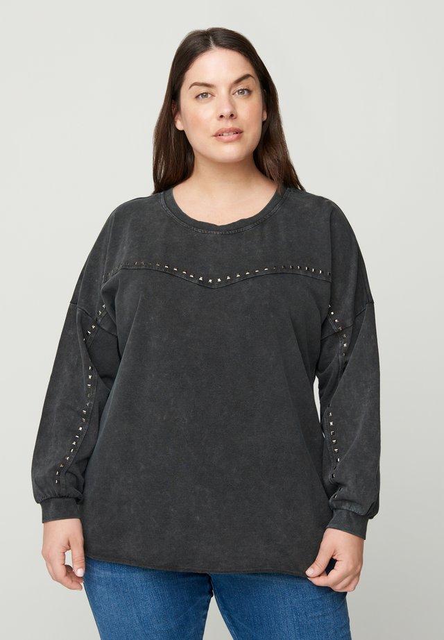 Maglietta a manica lunga - dark grey