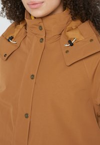 The North Face - INSULATED ARCTIC MOUNTAIN JACKET - Kort kåpe / frakk - chipmunk brown