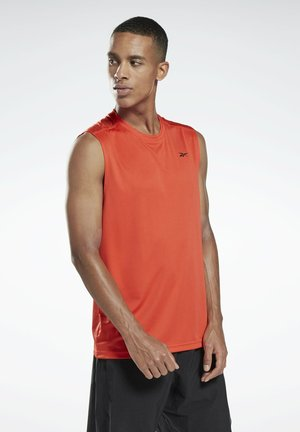 WORKOUT READY SLEEVELESS TECH T-SHIRT - Linne - red