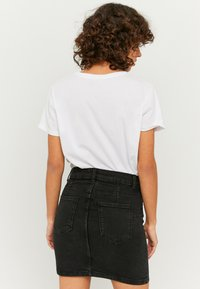 TALLY WEiJL - Denim skirt - black denim - 2