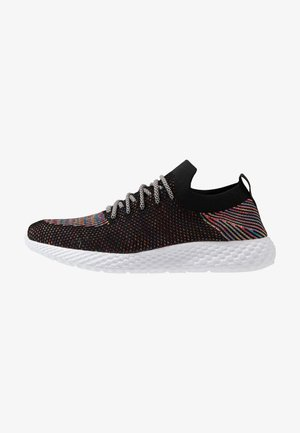 HATCHER TRAINER - Sneakersy niskie - black/rainbow/white
