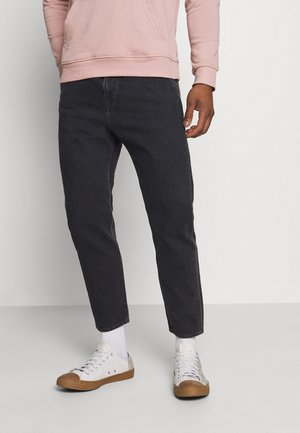 UNIVERSE PANT CROPPED - Straight leg jeans - mid stone kingston black