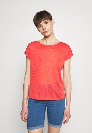 ONLCELINE MIX - Print T-shirt - cayenne