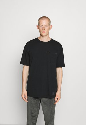 RENEW POCKET TEE - Basic T-shirt - black