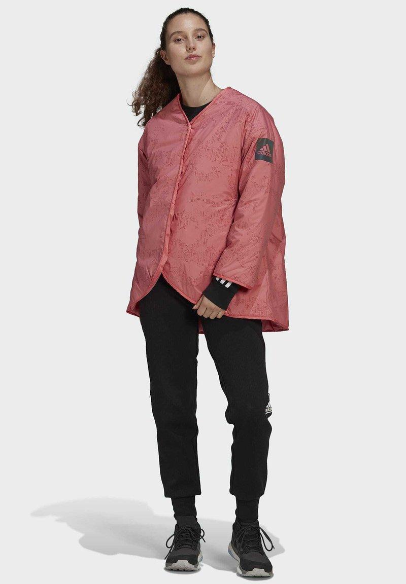adidas Performance - MYSHELTER 4IN1 - Parka - pink