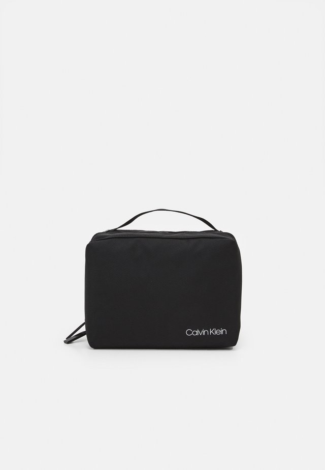 WASHBAG UNISEX - Wash bag - black