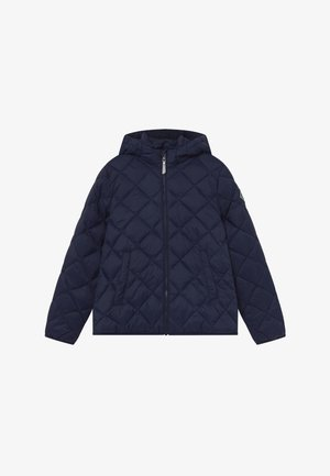 THE WEIGHT DIAMOND PUFFER - Zimní bunda - evening blue