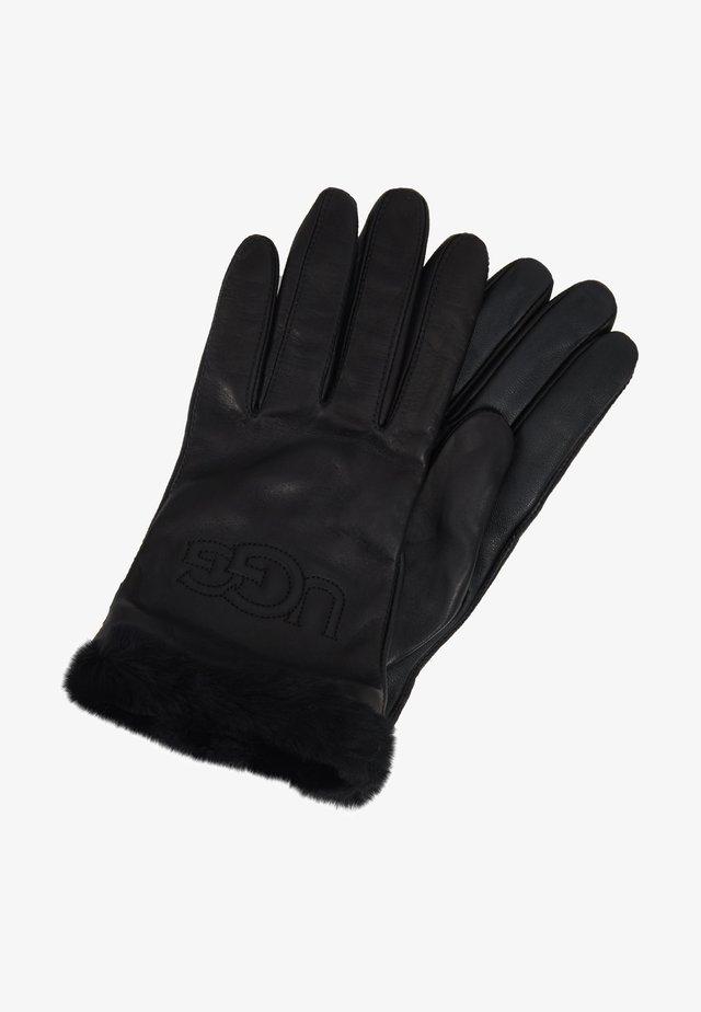 CLASSIC LOGO GLOVE  - Gloves - black