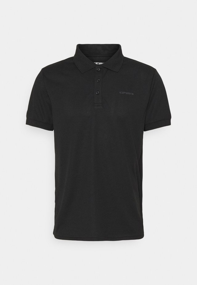 BELLMONT - Poloshirts - black