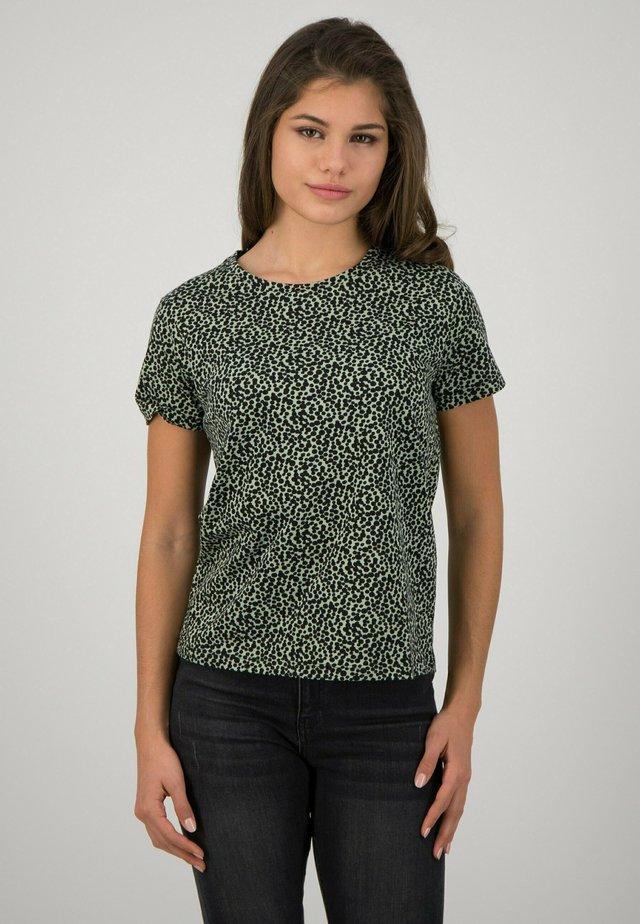 DOTS - T-shirt print - green