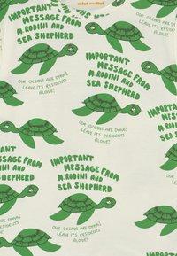 Mini Rodini - TURTLE TEE UNISEX - T-shirt imprimé - green - 2