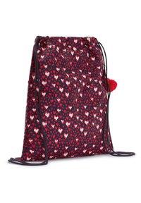 Kipling - SUPERTABOO - Drawstring sports bag - heart festival - 1