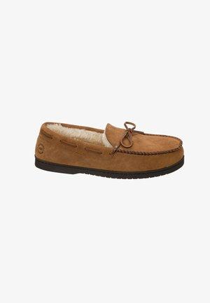 Slippers - chestnut