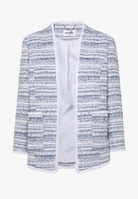 Wallis - PEARL BUTTON JACKET - Blazer - light blue - 3