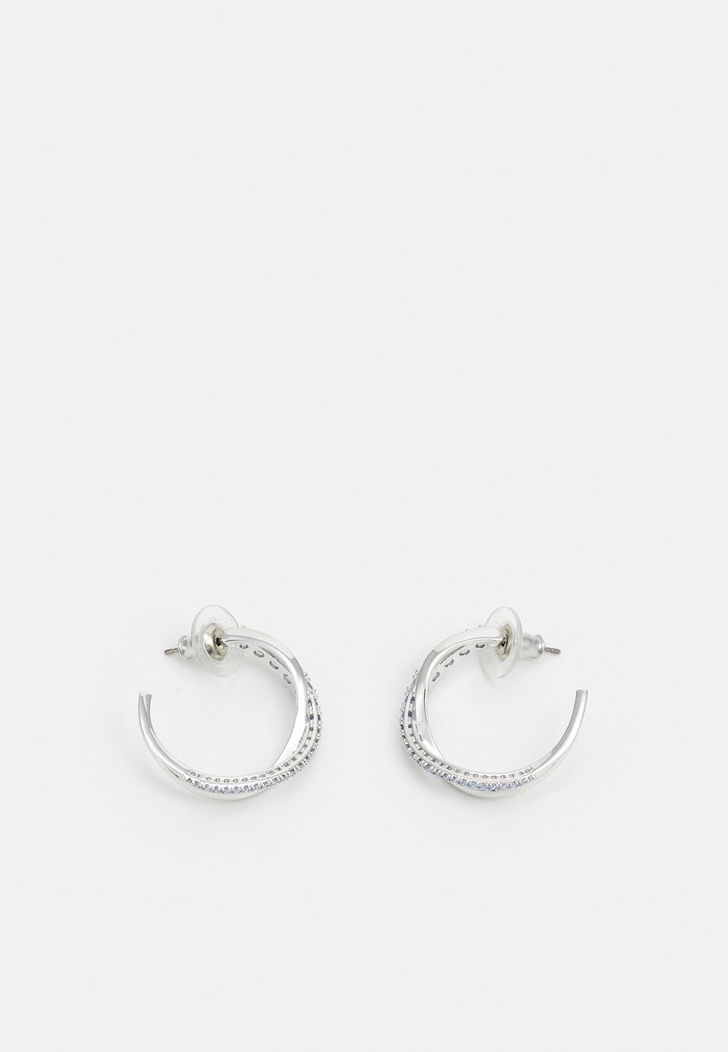 Swarovski - TWIST MINI HOOP - Earrings - fancy light blue