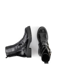 Maria Barcelo - Cowboy/biker ankle boot - black - 2