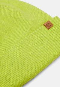 Barts - WILLES BEANIE UNISEX - Beanie - fluorecent yellow - 2