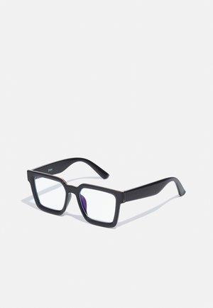 UNISEX - Blue light glasses - black