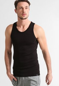 Puma - BASIC 2 PACK  - Undershirt - black - 1