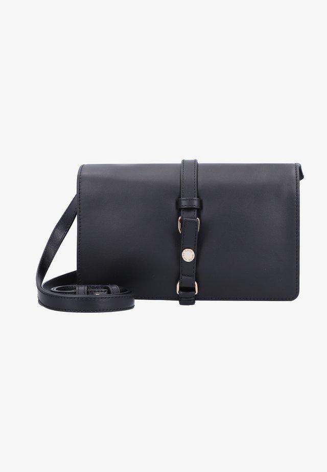 Across body bag - black-black