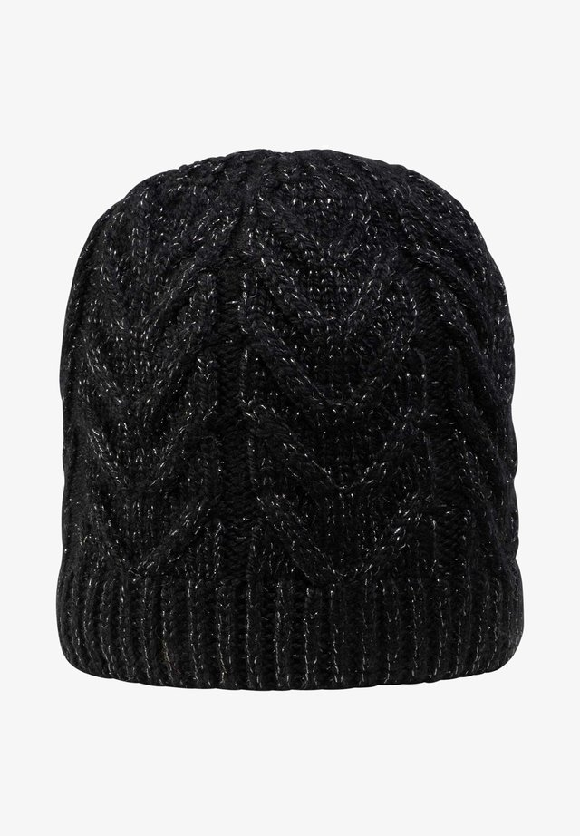 TAURON - Bonnet - schwarz