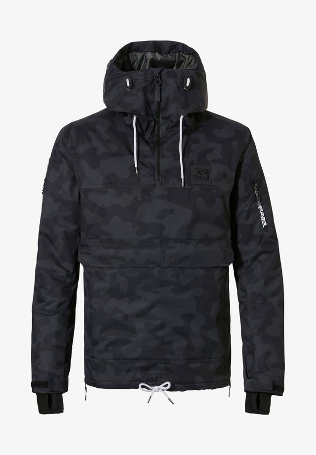 Outdoorjas - camo black