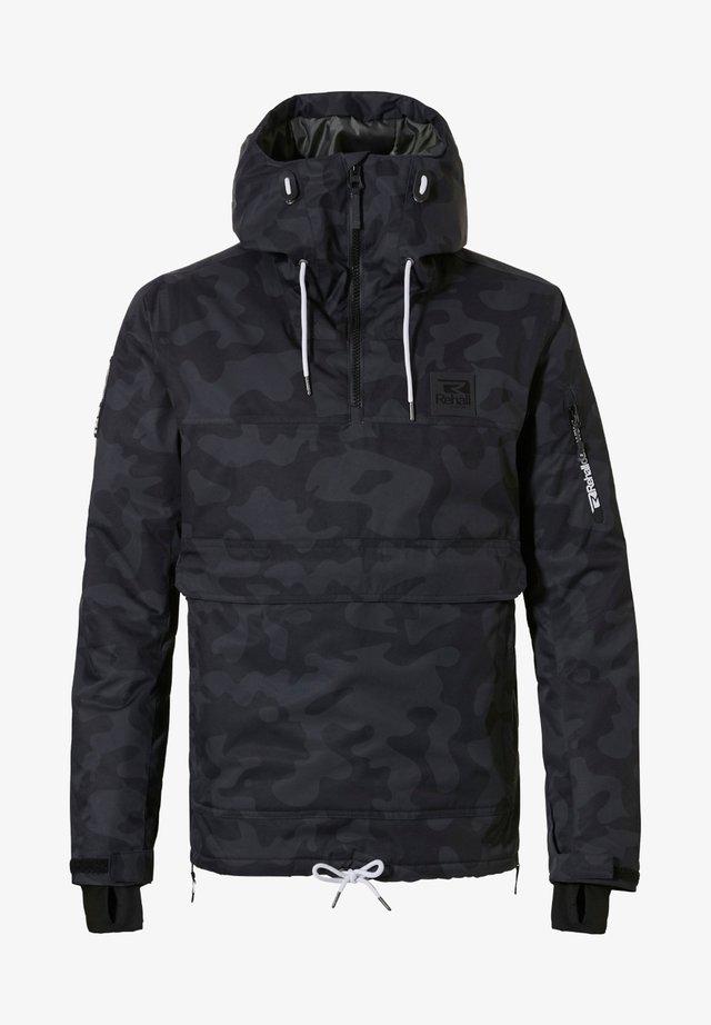 Outdoor jacket - camo black