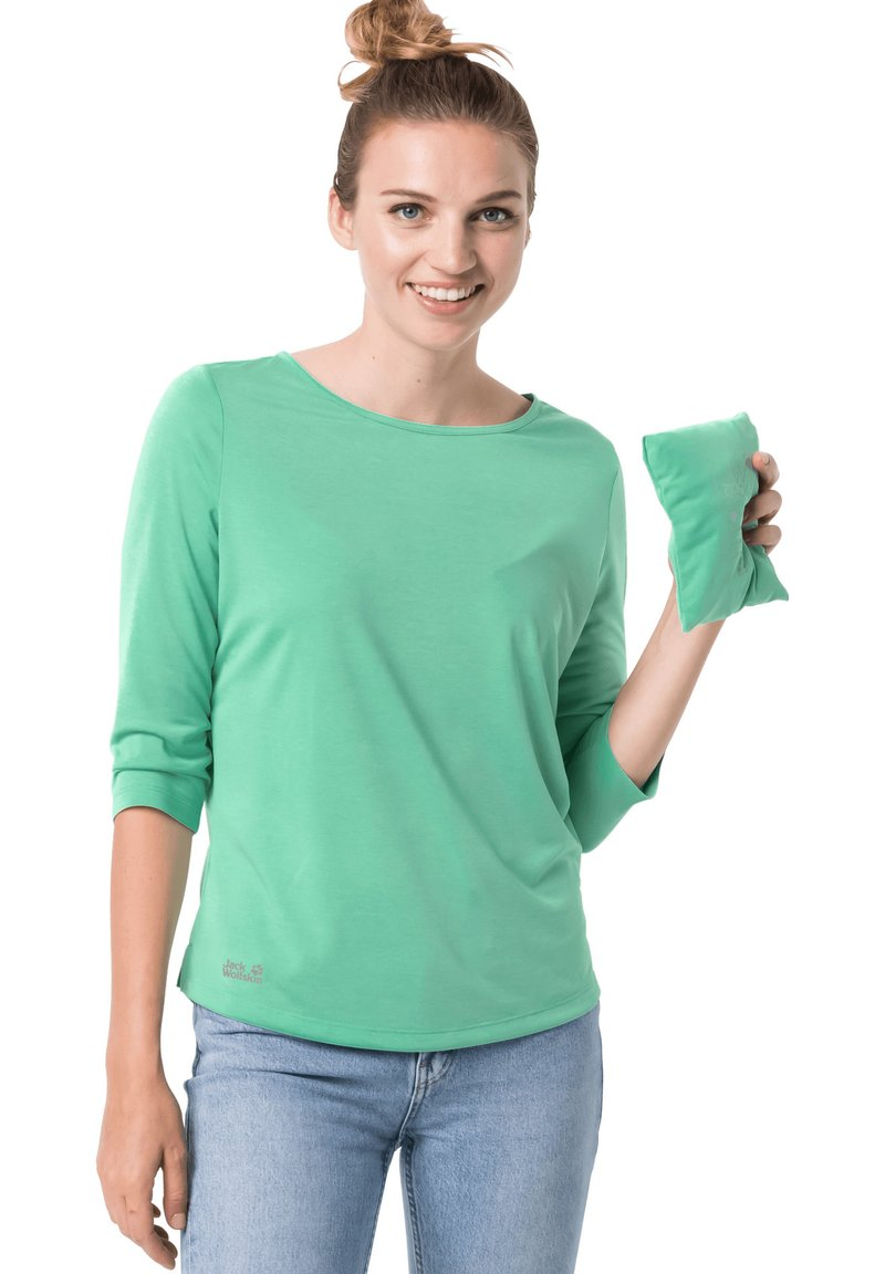 Jack Wolfskin - Long sleeved top - pacific green