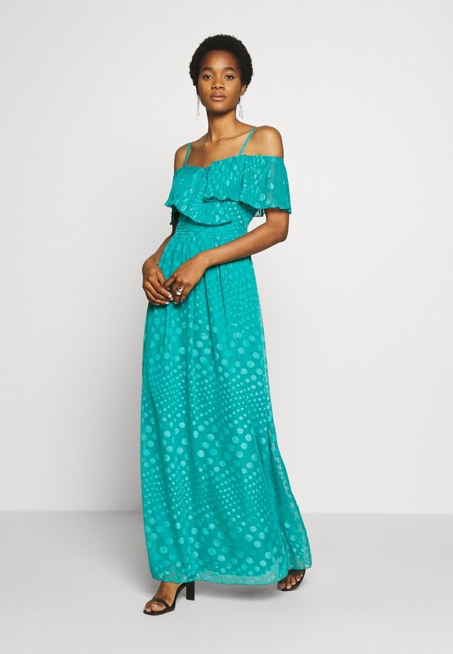 MAXI, SPOT CHIFFON - Maxi dress - aquatic jade
