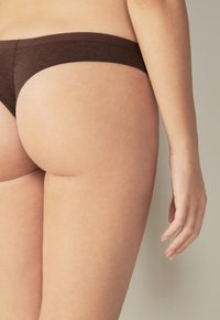 Intimissimi - Thong - i - brown blend - 2