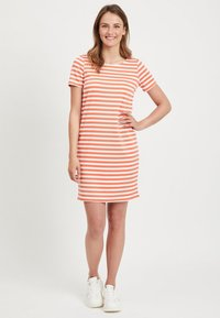 Vila - VITINNY  - Jersey dress - coral - 1