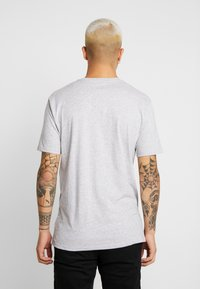 Volcom - STONE BLANKS - Basic T-shirt - mottled light grey - 2