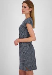 alife & kickin - SHANNAAK - Jersey dress - marine - 3