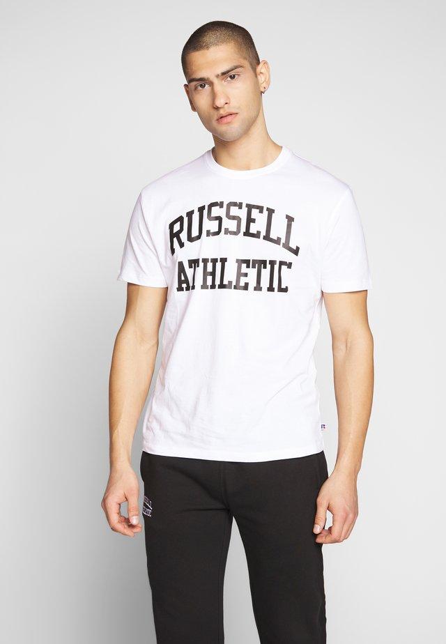 CREWNECK TEE - T-shirt con stampa - white