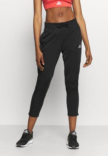 Pantalones deportivos - black/white