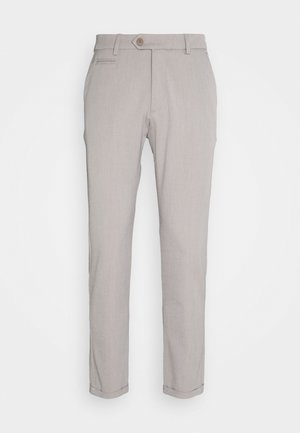 COMO LIGHT SUIT PANTS - Suit trousers - mirage grey