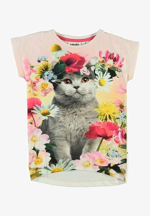 RAGNHILDE - Print T-shirt - flower cat