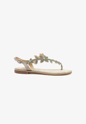 CAMPELLO - T-bar sandals - sand
