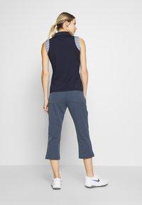 Calvin Klein Golf - ARKOSE CAPRI - 3/4 sports trousers - navy - 2