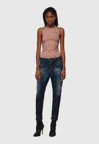 Diesel - FAYZA - Slim fit jeans - dark blue - 1
