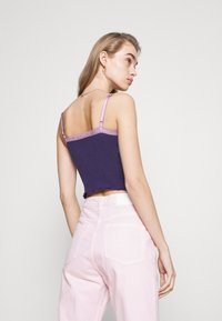 BDG Urban Outfitters - CROSS ALICE CAMI - Top - grape - 2